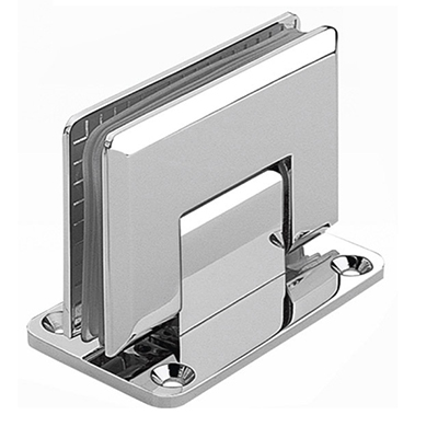 stainless steel square bathroom glass shower hinge sh04 wall to glass