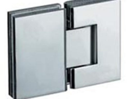 square 180 degree shower room glass hinge