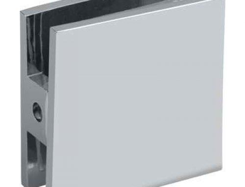 frameless glass brass glass clip brakets