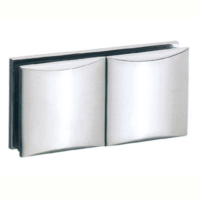 glass to glass clamp hinge