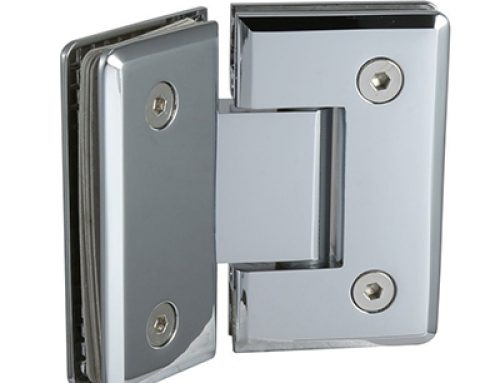 135 degree glass to glass hinge