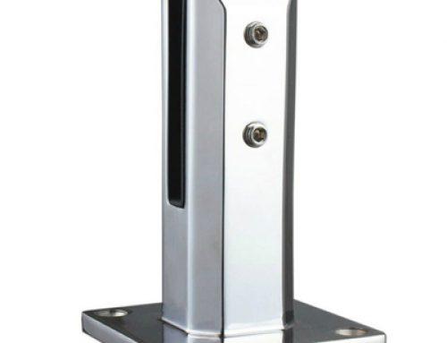 Stainless steel frameless glass railing fencing spigot