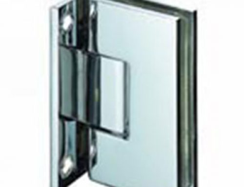 square 90 degree bathroom brass glass clamp