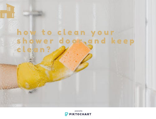 3 steps tell you how to clean your shower door and keep clean
